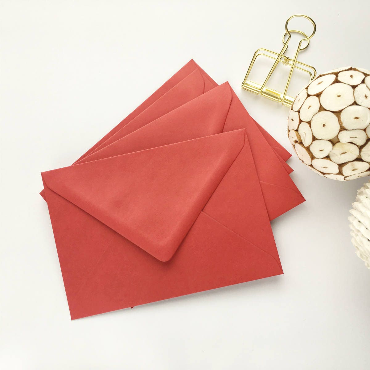 200 Red 4x6 Envelopes A6 C6 Bulk Envelopes Christmas Envelopes also ...