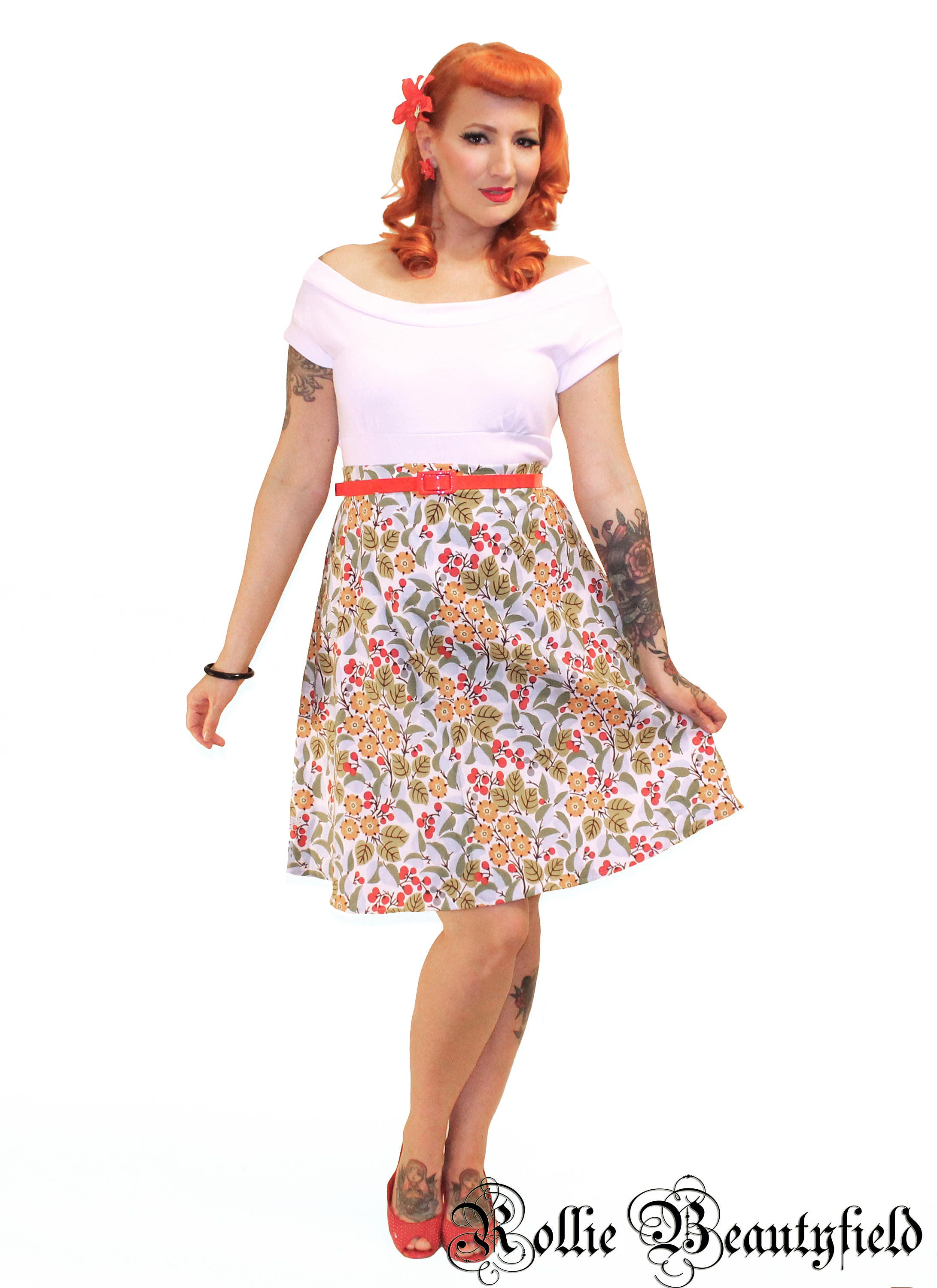 bd824f7e22 Anna Floral Skirt (LIMITED EDITION) ***NEW***