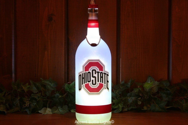 Home Football Decor Man Alcool Veilleuse College Signe Ohio Osu Bouteille Cadeau State Bar Lumière Sport Lampe Cave Vin 1TKJlFc