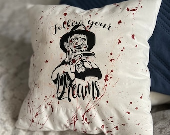 Scary Pillow Etsy
