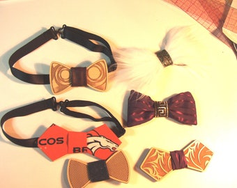 Bow Tie Digital Pattern for CO2 Laser Cutters, Band Saws and Scrollsaw Cutters
