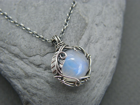 moonstone pendant in sterling silver 2 pieces 20.00