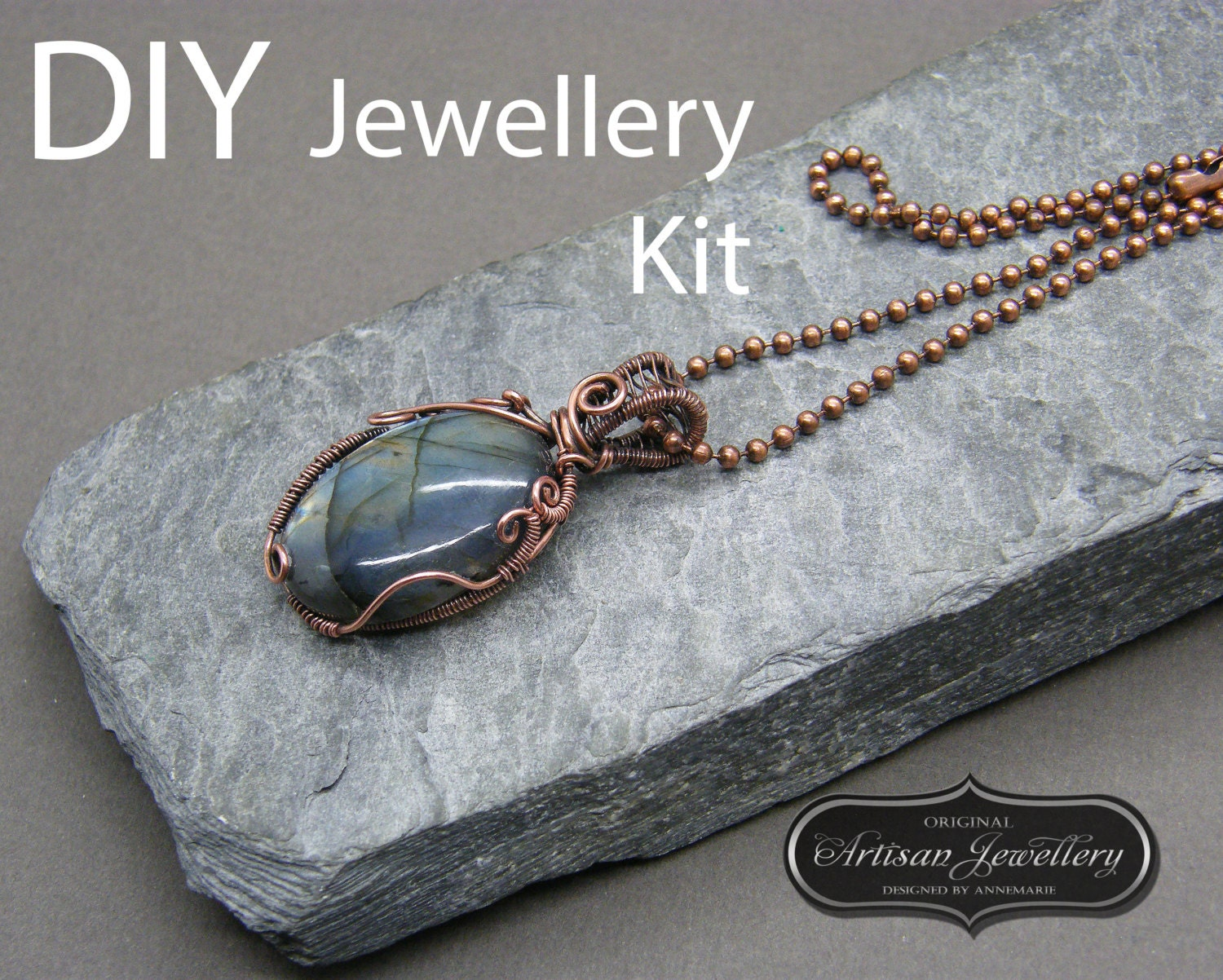 Wire wrapped jewelry tutorial ~ Wire wrapped cabochon tutorial ...