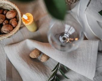 Natural linen table runner, table runner wedding, linen table cloth, rustic linen table runner, linen table topper, wedding table linen