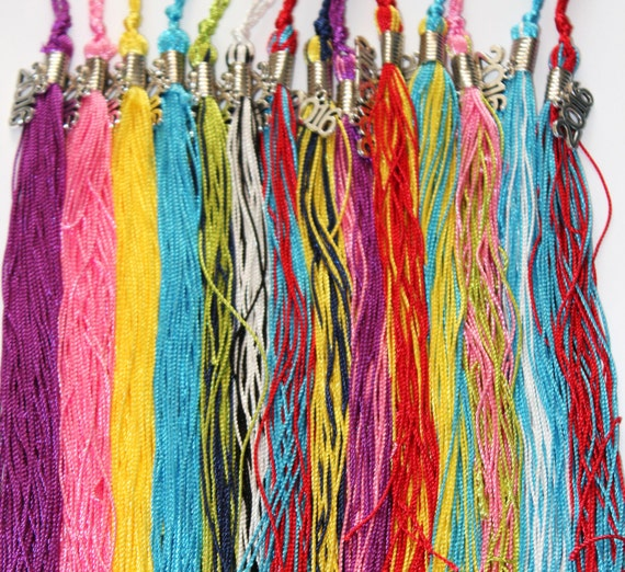 """Graduation Tassel 9/"""" various colors for Cap /& Gown Souvenir High School"""