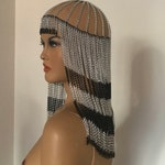 Burning Man Facechain , head dress,  hairpiece,hair jewelry,festival jewelry,Grecian Goddess Head Jewelry,Festival Headchain,