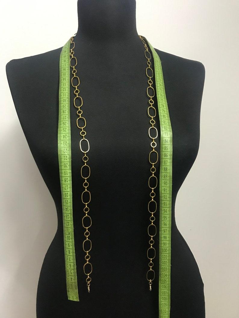 chain belt Gold belly chain waist chain gold plated
