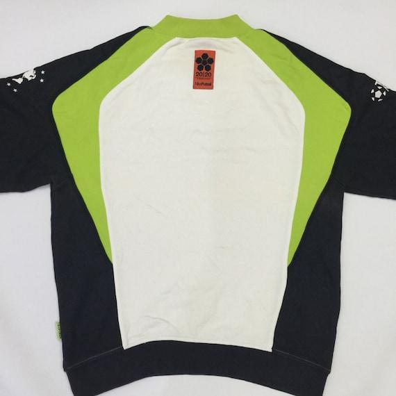 Nike Des Vintage Sport Noir Années 90 Ras Du Vert Cou Collier Air SZSqTtdw