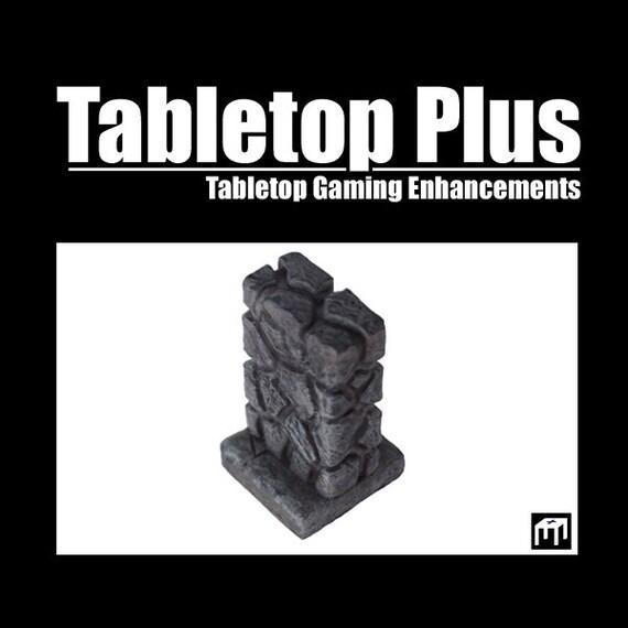 """1"""" Walls for Versatile Modular Dungeon (Set of 10)"""