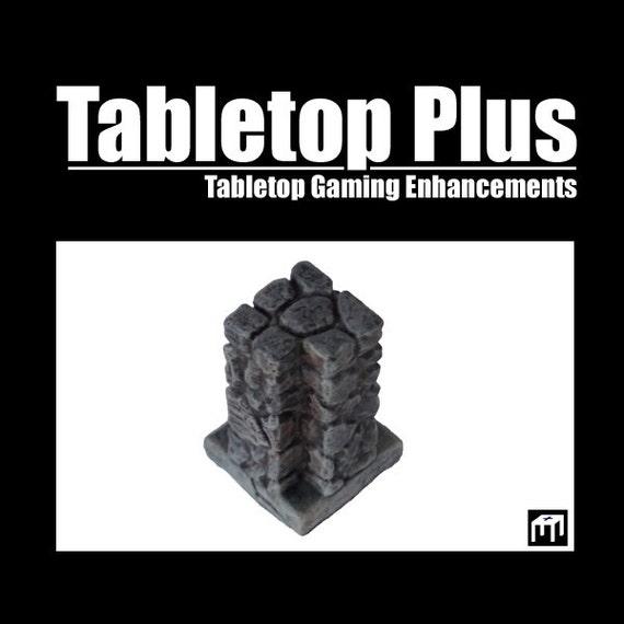 """1"""" Corner Junctions for Versatile Modular Dungeon (Set of 10)"""