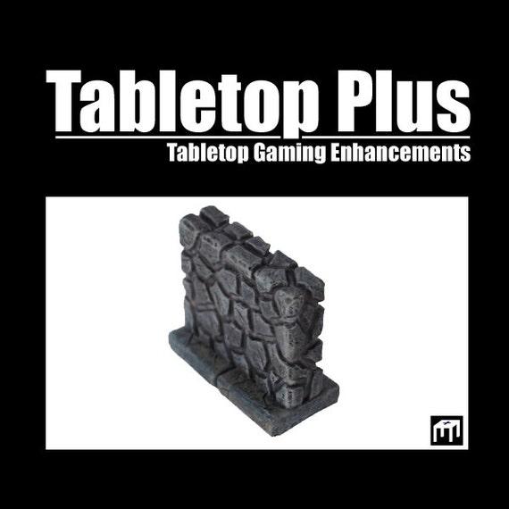 """2"""" Walls for Versatile Modular Dungeon (Set of 8)"""