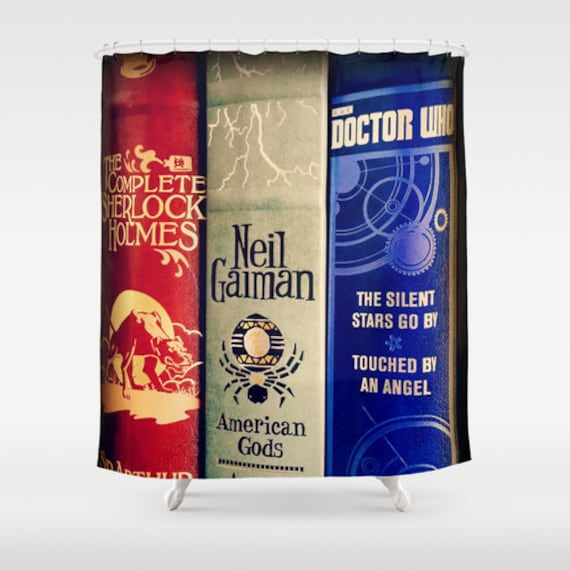 Library Of Sherlock Neil Gaiman And Doctor Who Shower