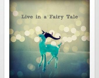 Live in a Fairy Tale Fine Art Print: wall art, wall decor, photography, home decor