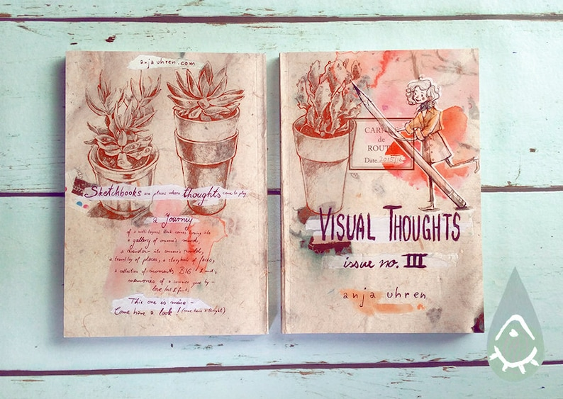 Visual Thoughts III  artbook illustrated book sketchbook image 0