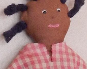 Primitive Handmade Vintage Doll!