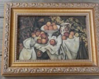 Framed Paul Cezanne Still Life Print!
