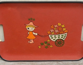 Kitschy Cute Vintage Tray!