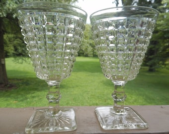 Beautiful Pair of EAPG Goblets!