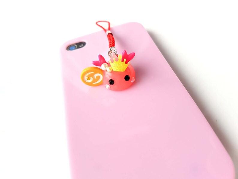 d7a59e23f Hoppe Chan Reindeer Charm Cancer Zodiac Phone Charm Cute