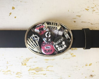 Band Button Buckle and Belt
