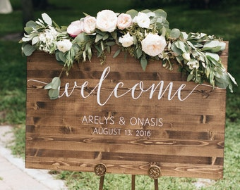 Wedding Welcome Sign.Wedding Welcome Sign Etsy