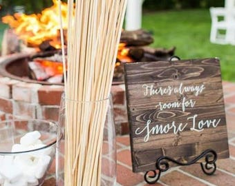 Theres Always Room for S'more Love- Wooden Wedding Sign - Sophia Collection