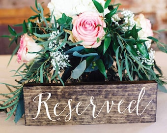 Reserved Sign - Wedding reserved sign - Sophia collection