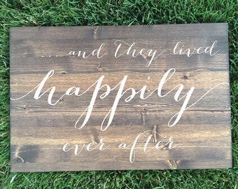 And They Lived Happily Ever After Sign - Brighton Collection