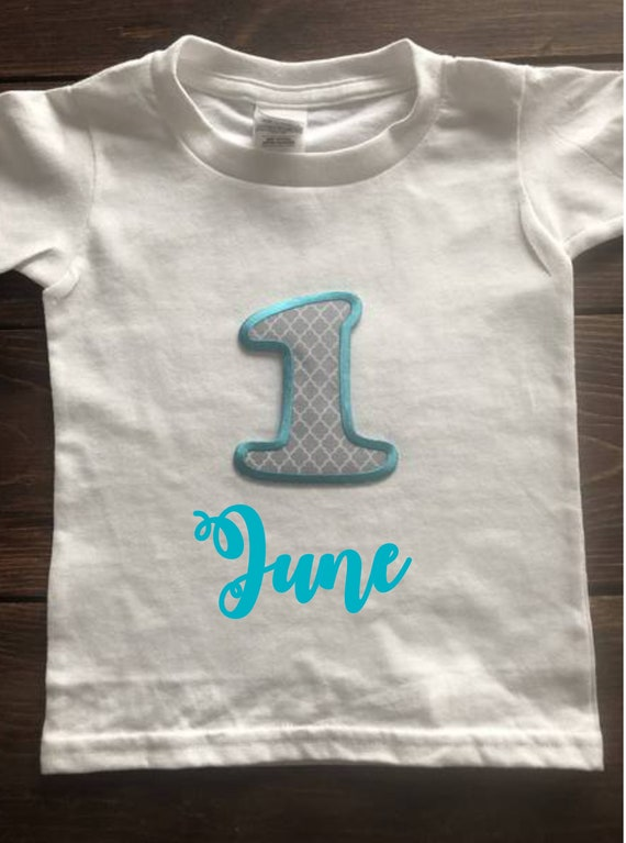 1st Birthday Shirt First Personalized