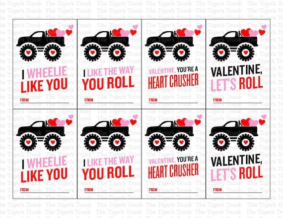 Printable Valentine Card Printable Valentines Valentine Tag
