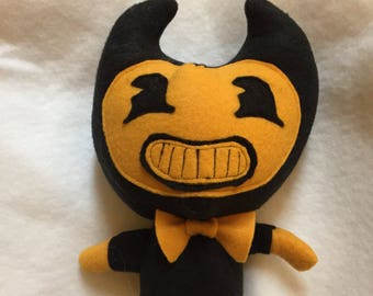 Inspired Small Bendy and the Ink Machine Bendy Plush unofficial)