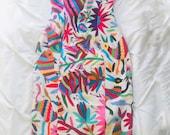 Otomi Strapless Midi Tube Pencil Dress Fitted multicolor