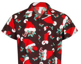 Christmas Hawaiian Shirt Australia.Hawaiian Shirt Etsy