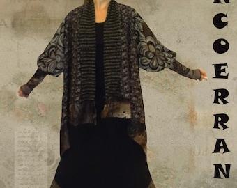 Set Asymmetrical Jacket and 'Winter Chocolate Long Skirt...'