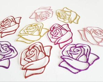Rose die cuts