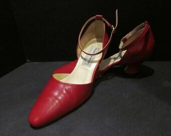 6099ecc61ae4d Ankle strap heels | Etsy
