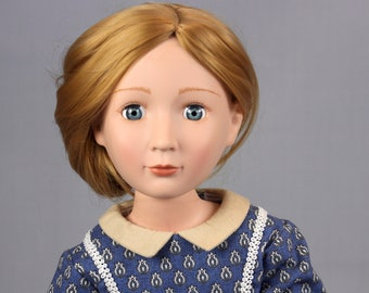 """Civil War Inspired Day Dress for 16"""" A Girl For All Time Dolls"""