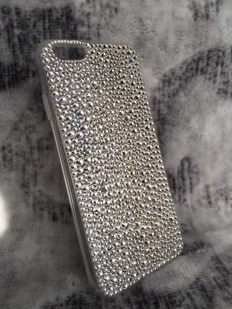 reputable site b5ace 38f0e iPhone 8 case Swarovski, iPhone 7 bling case, iPhone 6s case bling, iPhone  6 Case, iPhone 6s case, Diamond phone case Custom crystal case