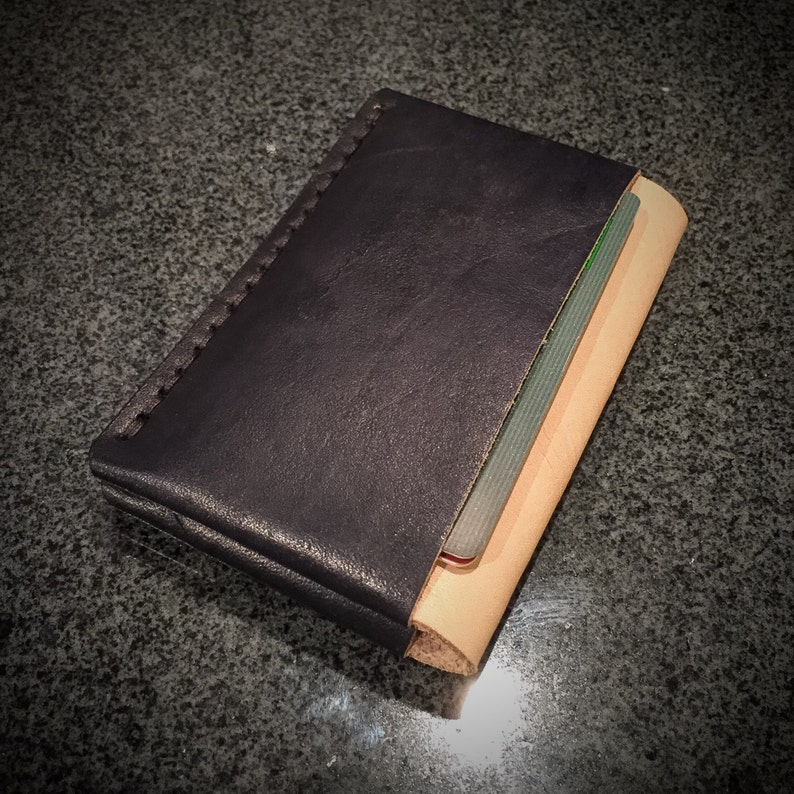 Leather Card Wallet  Card Holder  Minimalist Wallet  image 0