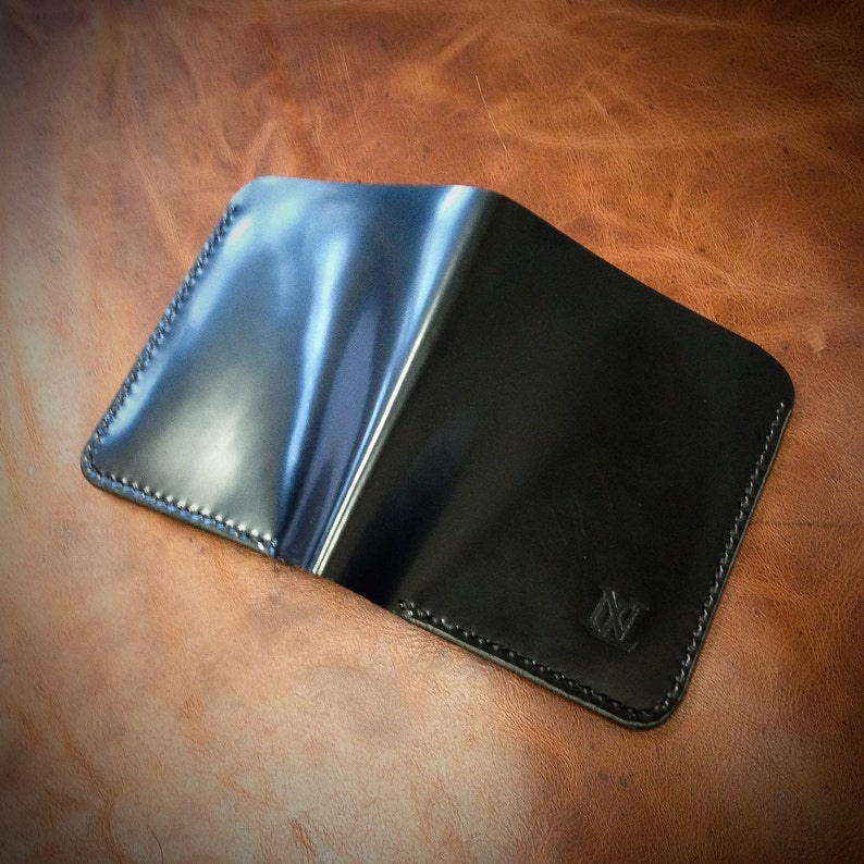 Men's Leather Wallet Leather Minimalist Wallet Card image 0