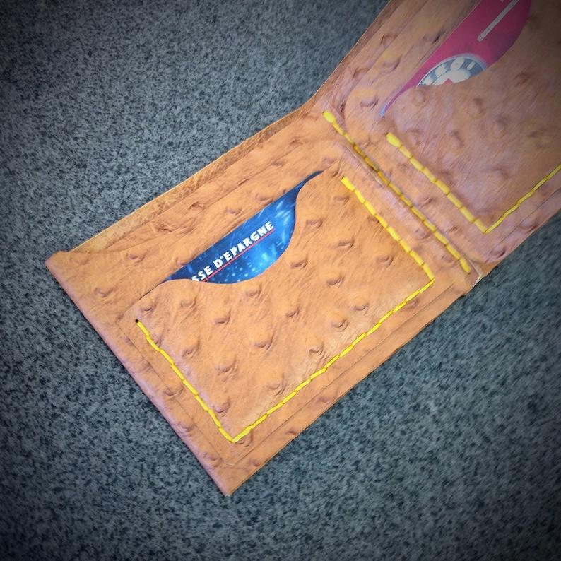 Mens Leather Wallet Leather Bifold Men's Wallet image 0