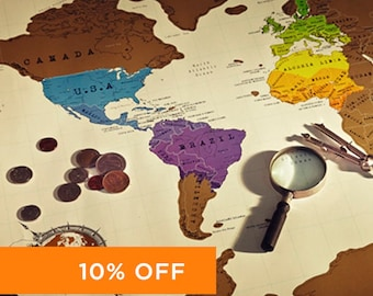 Scratch the world scratch off places you travel map print scratch off travel map gumiabroncs Gallery