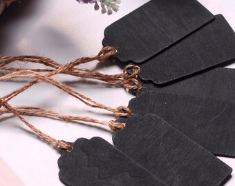 Mini Chalkboard Tags