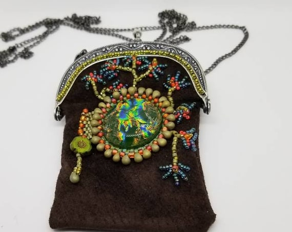 Medicine bag Native American inspired Rita Caldwell