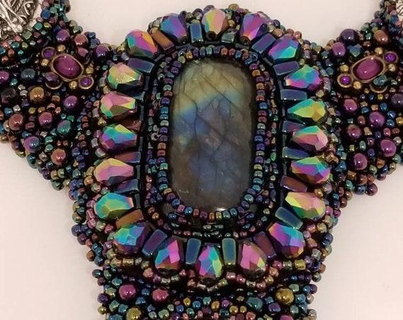 Purple-licous necklace