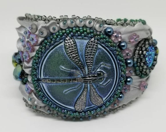 Ouray dragon fly bracelet Rita Caldwell Native American inspired