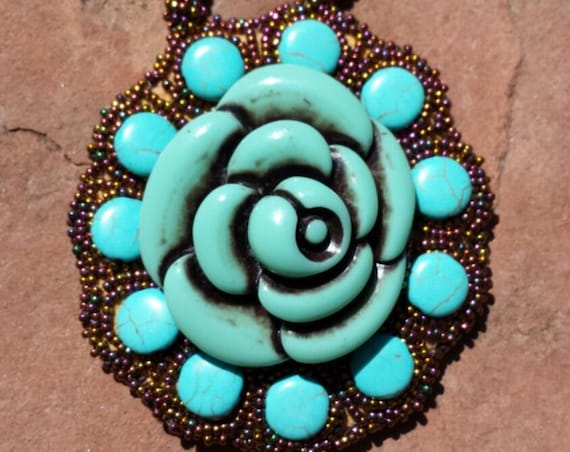 Copper and Turquoise Dreams native american inspired Rita Caldwell