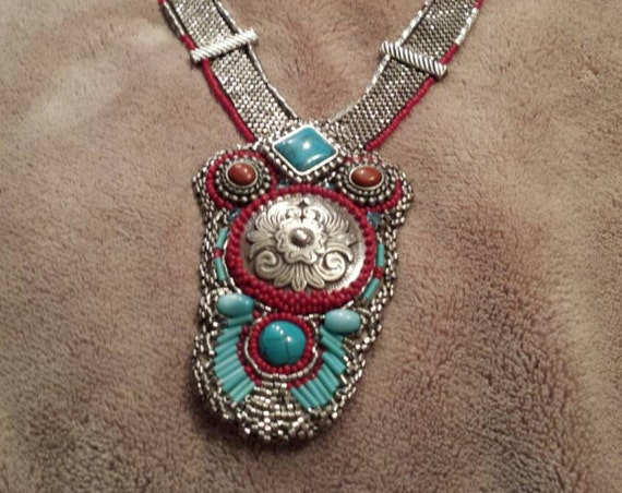 Ringo's last dance by beadworkdreamsraven Native American inspired beadwork