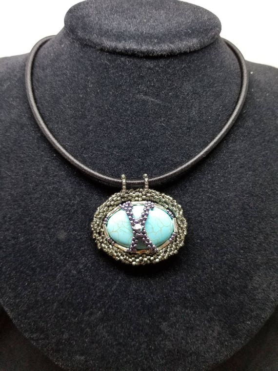 Tangled up in silver and blue Beadworkdreamsraven Rita Caldwell Native American inspired