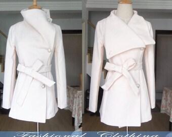 khaki black cream coat woolen coat winter spring autumn coat warm coat women clothing long sleeve coat jacket outerwear dress golilla coat